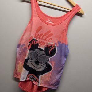 Mickey Mouse Tank - Disney Hello Summer sz Small